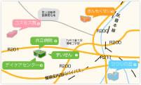 親和会 施設一覧MAP